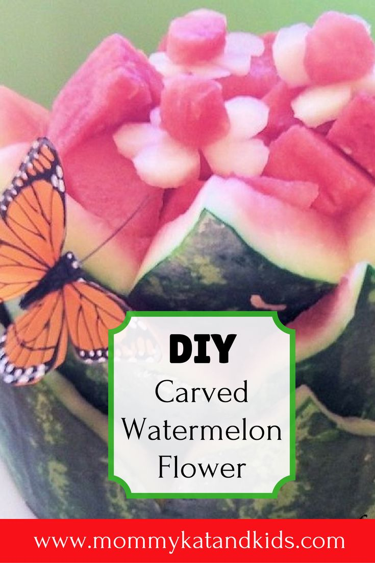 If you're running low on money before your next summer party, have no fear! You can make this beautiful watermelon flower centerpiece by yourself. It's simple and is a great DIY summer project. If you're feeling adventurous, try this out for your next summer get-together.