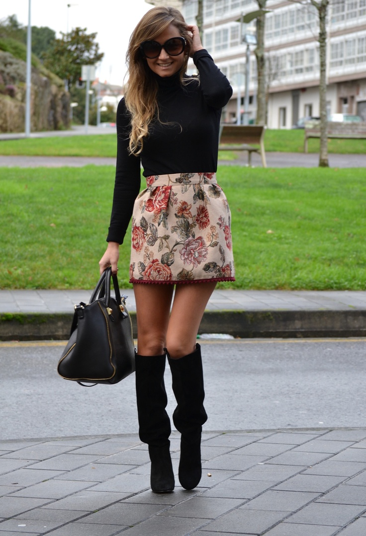 Stradivarius Sweaters, Zara  Boots and Zara  Bags  Rainy day  -- if it ever rains here in LA