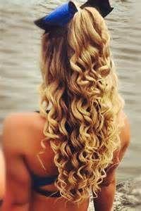 cute cheer hair half up - Bing images