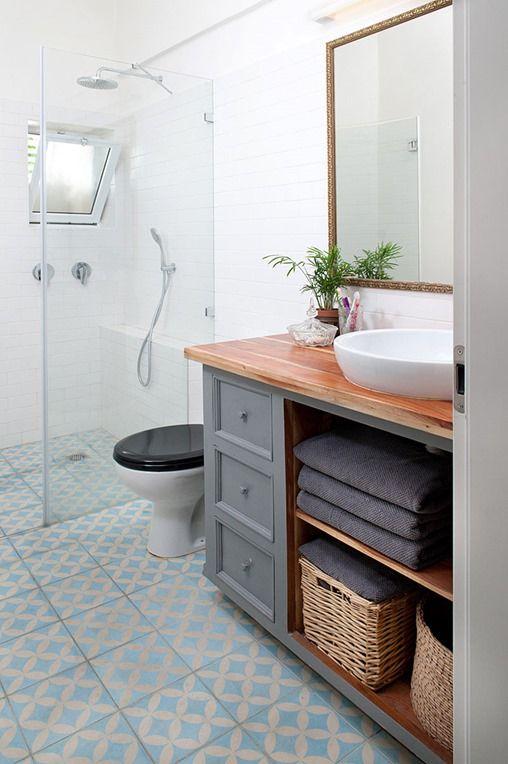 Centsational Girl » Blog Archive Wood Countertops in Bathrooms - Centsational Girl