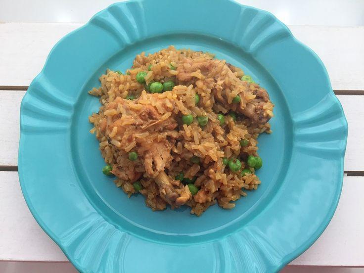 receita arroz frango