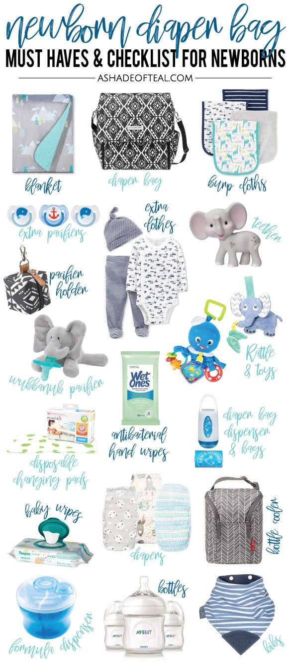 Newborn Diaper Bag Must Haves New Baby Products