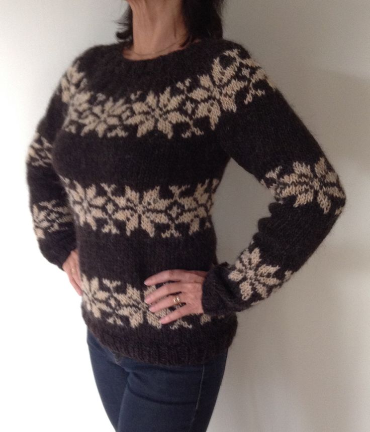 Sarah Lund handknitted sweater from The Killing. Made from pure Icelandic wool. Made to order in other colors. Have a look: www.frustrik.dk by Frustrik on Etsy