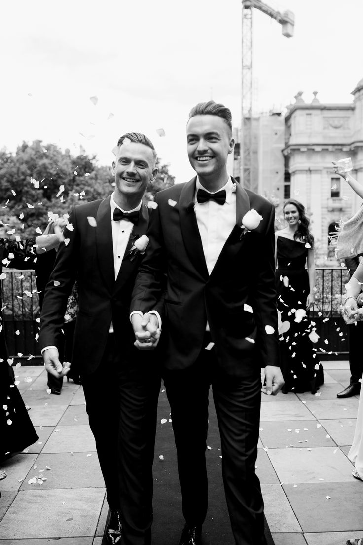 Wedding day. Love is love