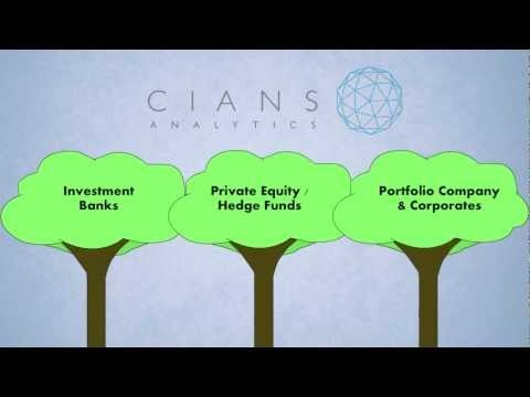 Explainer video for Cians Analytics.