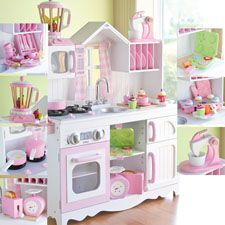 Lily and Piper would love this! I'm hoping to make a felt baking set with an etsy pattern and maybe paint their kitchen.