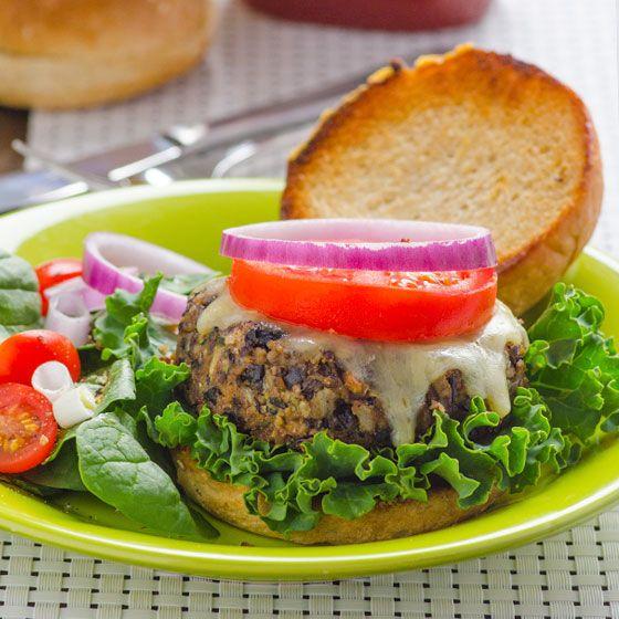 Black Bean Zucchini Burger