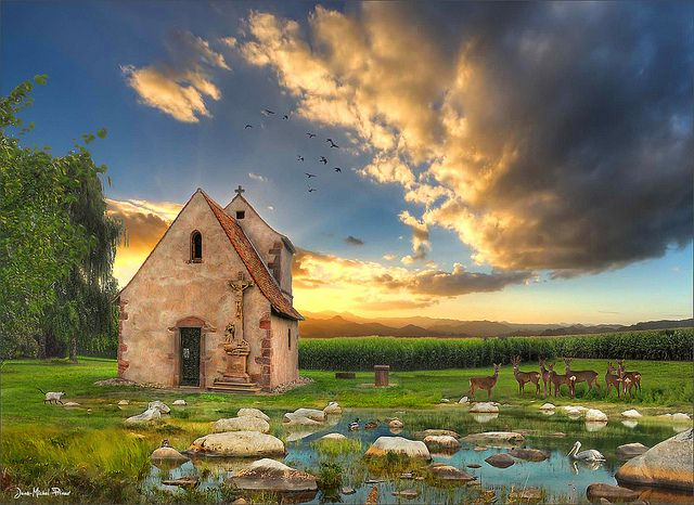 Rest area - Dossenheim-Alsace, France