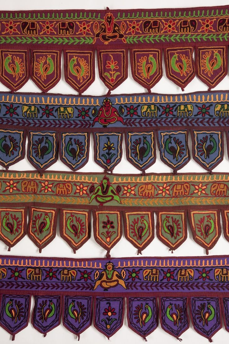 Embroidered Valance