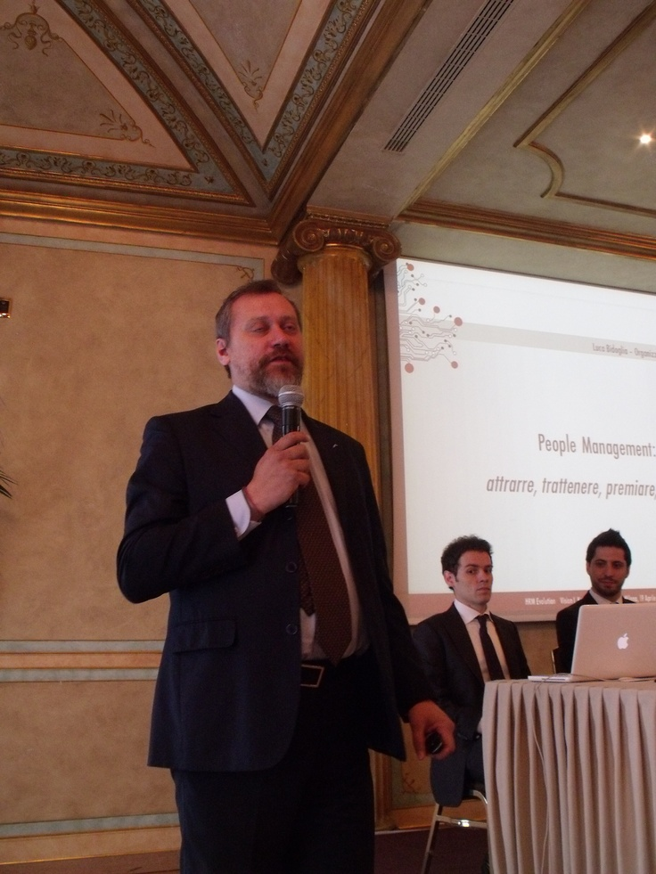 Luca Bidoglia, le vision per l'HR Management