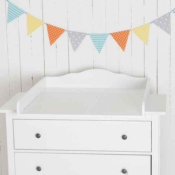 """Babymöbel - """"Wolke 7"""" Wickelaufsatz  für IKEA Hemnes Kommode - ein Designerstück von PuckDaddy bei DaWanda"""