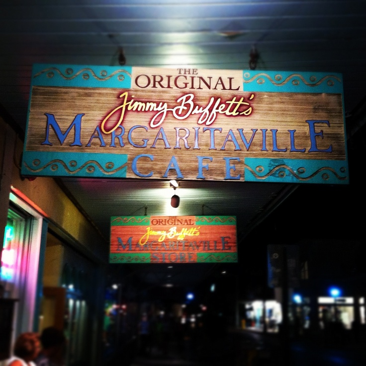 Key West, FL Margaritaville Cafe