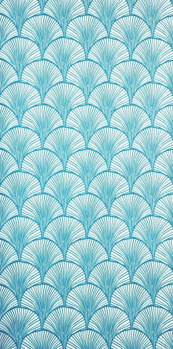 scandinavian wallpaper decor mimou wallpaper electric blue