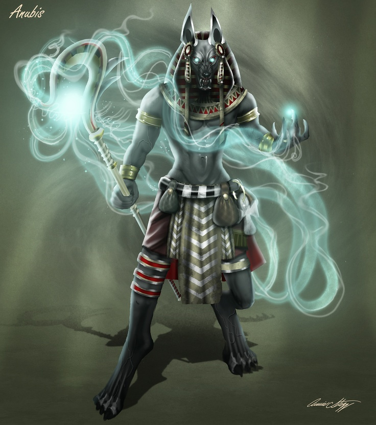 Smite Anubis Concept