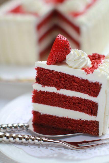 masam manis: RED VELVET CAKEDesserts, Masam Mani, Cake Courtesy, Food, Delicious Cake, Yum Yum, Redvelvet, Layered Red, Red Velvet Cakes