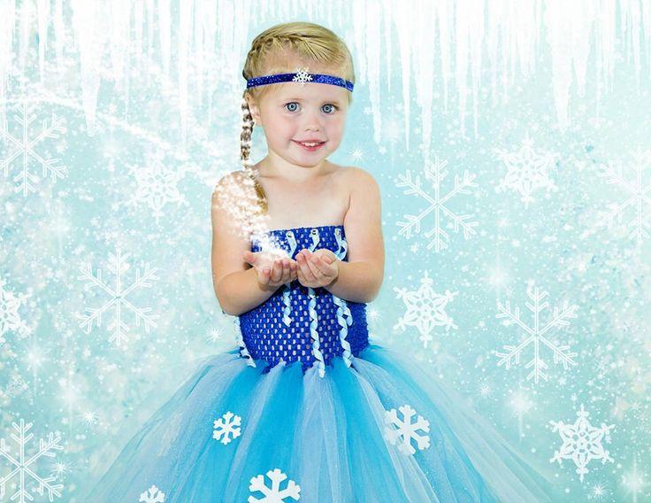 Elsa Dress by OhMyTutuCuteByDeanna on Etsy https://www.etsy.com/listing/200988958/elsa-dress