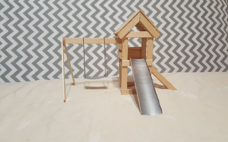 Popsicle Stick Playground