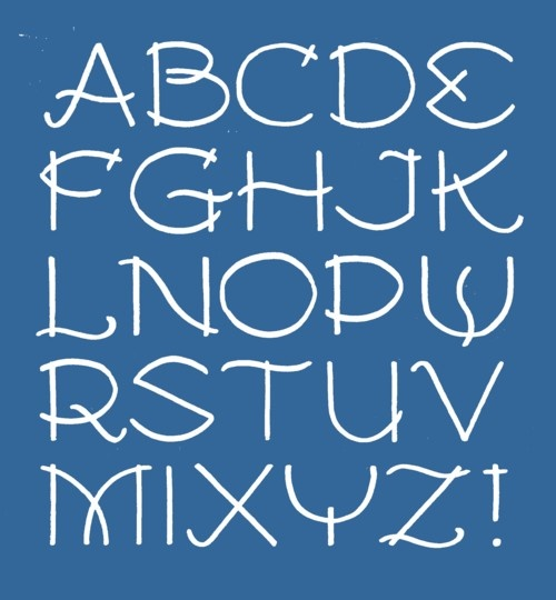 87 best Art of handwriting images on Pinterest Letter fonts - copy purely block style letter format