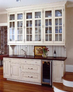 colonial kitchen cabinet                                                       …