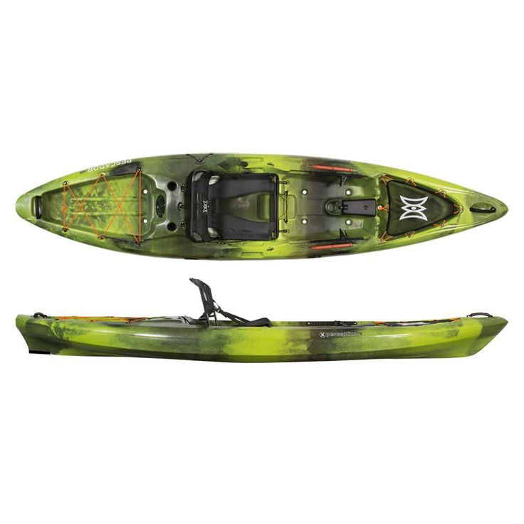 Perception Kayak Pescador Pro 12 Bs Moss