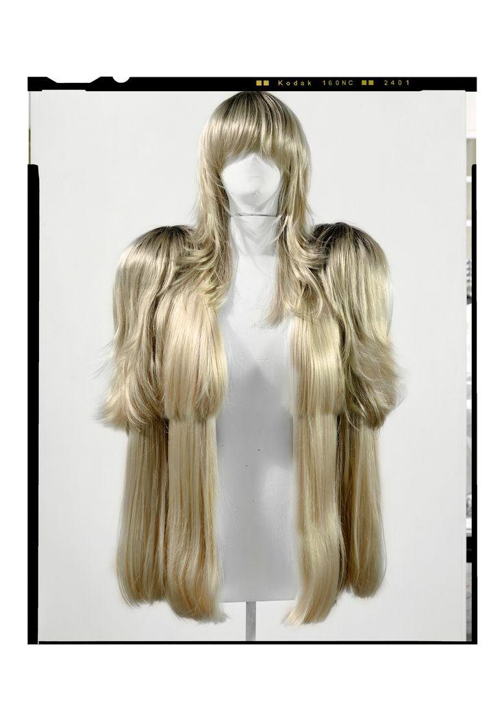 Maison martin margiela wig coat hair hysteria for Maison martin margiela