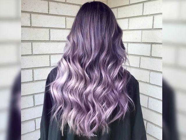 Оттенки фиолетового и сиреневого