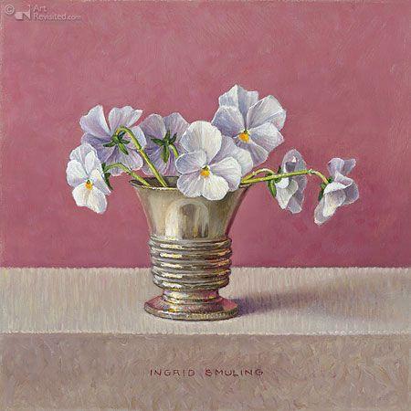 ingrid smuling   Kleine witte viooltjes