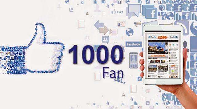 Sicilia Giornale: 1000 fan sulla Pagina Facebook