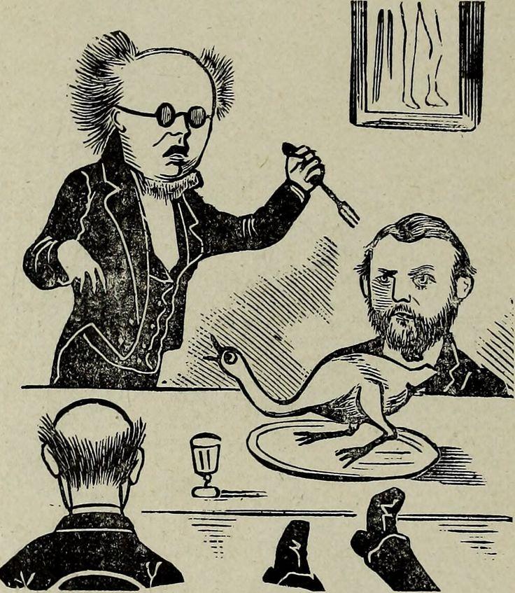 FromDenison University's Adytum yearbook, 1891.
