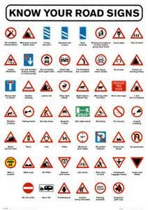 Know Your Road Signs U K Traffic Signs Symbols