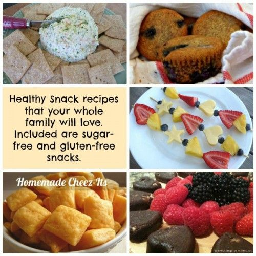 A list of healthy snacks. I want to try the #glutenfree #recipes