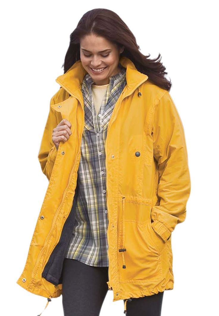 Plus Size Raincoat