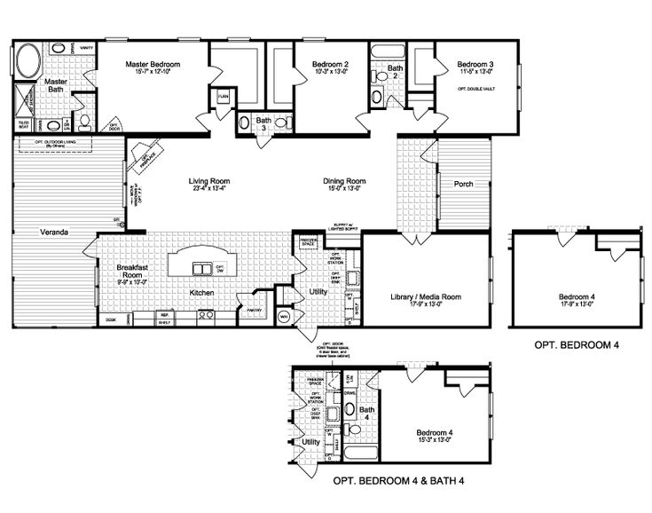 Best Manufactured Homes Images On Pinterest Architecture - Clayton modular homes floor plans