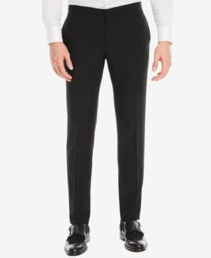 Boss Men's Extra-Slim-Fit Dress Pants - Black 38R