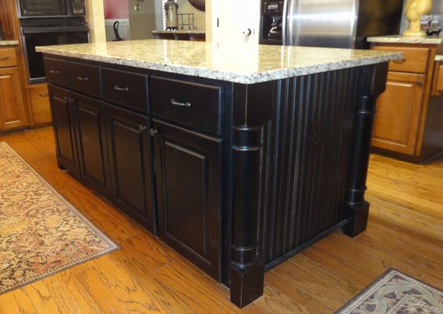 black kitchen island with butcher block top 85 best images about kitchen island on white 27673