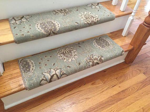 Amazing Authentic Wool Willowbrook TRUE Bullnose™ Carpet Stair Tread New Zealand  Wool Emporium Runner Replacement Upgrade