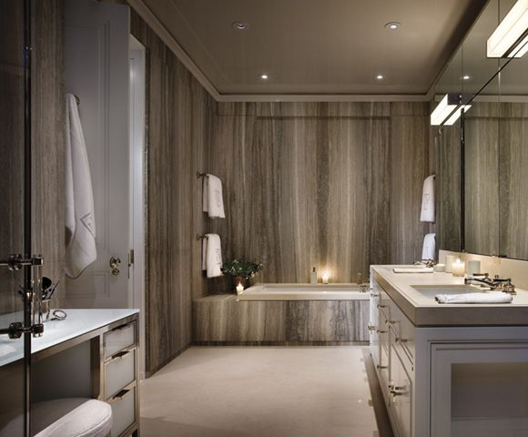 The Beresford, New York Master Bathroom: Ferguson U0026 Shamamian