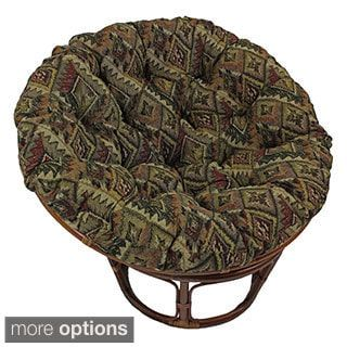 Shop for Blazing Needles Western Collection 44-inch Tapestry Papasan Cushion . Get free shipping at Overstock.com - Your Online Home Decor Outlet Store! Get 5% in rewards with Club O! - 16011851