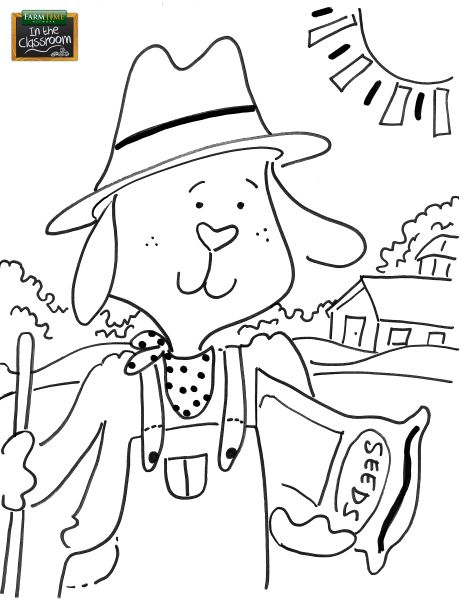 Free coloring page for your elementary classroom! www