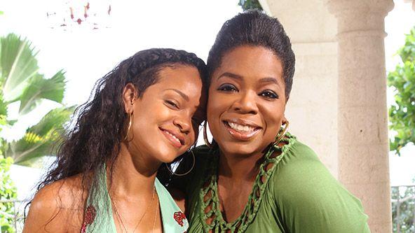 Watch Rihanna on Oprah