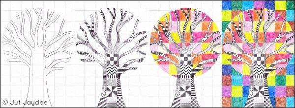 tekenen. boom van papier - Google zoeken