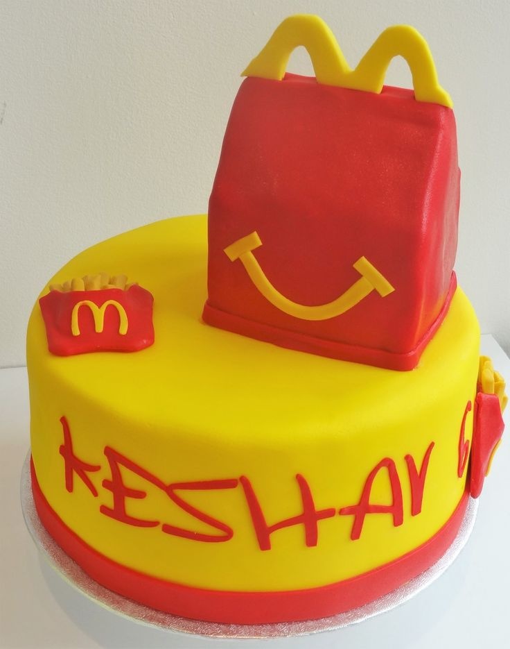 Mcdonalds Birthday Cake Canada