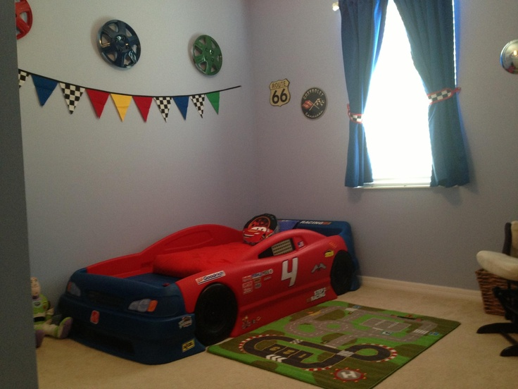 race car bedroom - Boys Room Ideas Cars