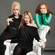 Kate Moss with the Ab Fab LadiesSweetie Darling, Absolute Fabulous, Ab Fab, Style Inspiration, Joanna Lumley, Jennifer Saunders, Abfab Absolute, Kate Moss, Sneak Peek