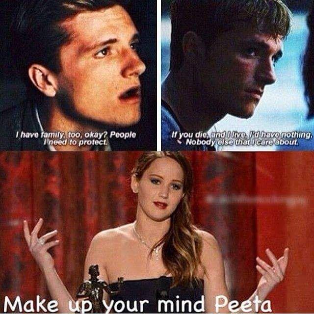 The Hunger Games Igrzyska Śmierci Catching Fire W Pierścieniu Ognia Jennifer Lawrence Peeta