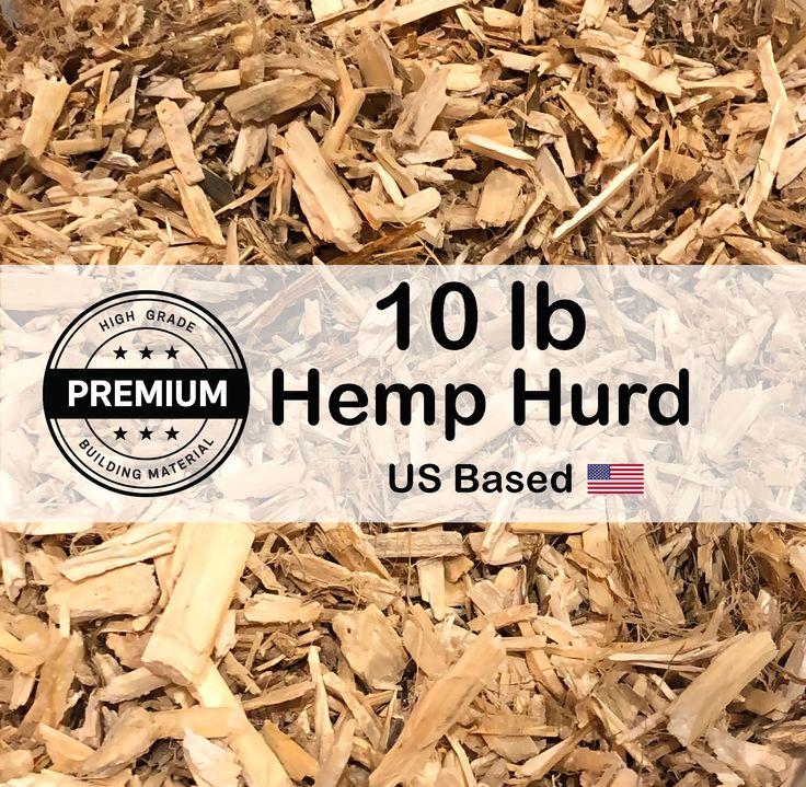 10 Lb Premium Hemp Hurd Hempcrete Raw Materials Hemp Shiv Etsy Home Insulation Sustainable Living Building Materials