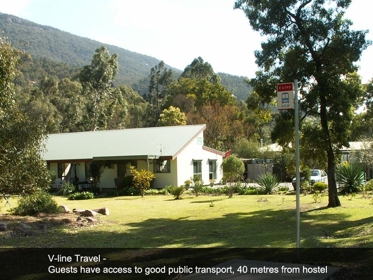 Tim's Place in Halls Gap, Australia, has taken numerous measures to reduce carbon emission, save water, and encourage public transport.