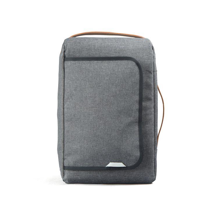 [로우로우] R BAG 107 WAX HAZE GRAY