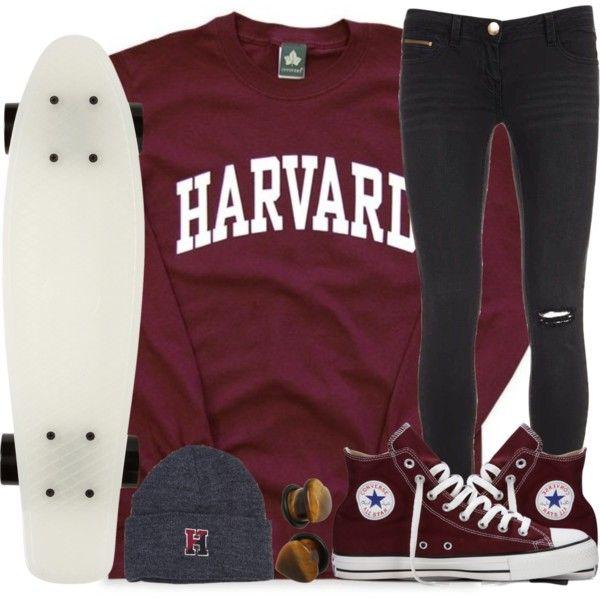 Harvard Skater Girl