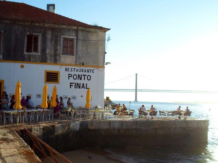 Restaurant Ponto Final - Lisbon #secretplaces - beautiful view